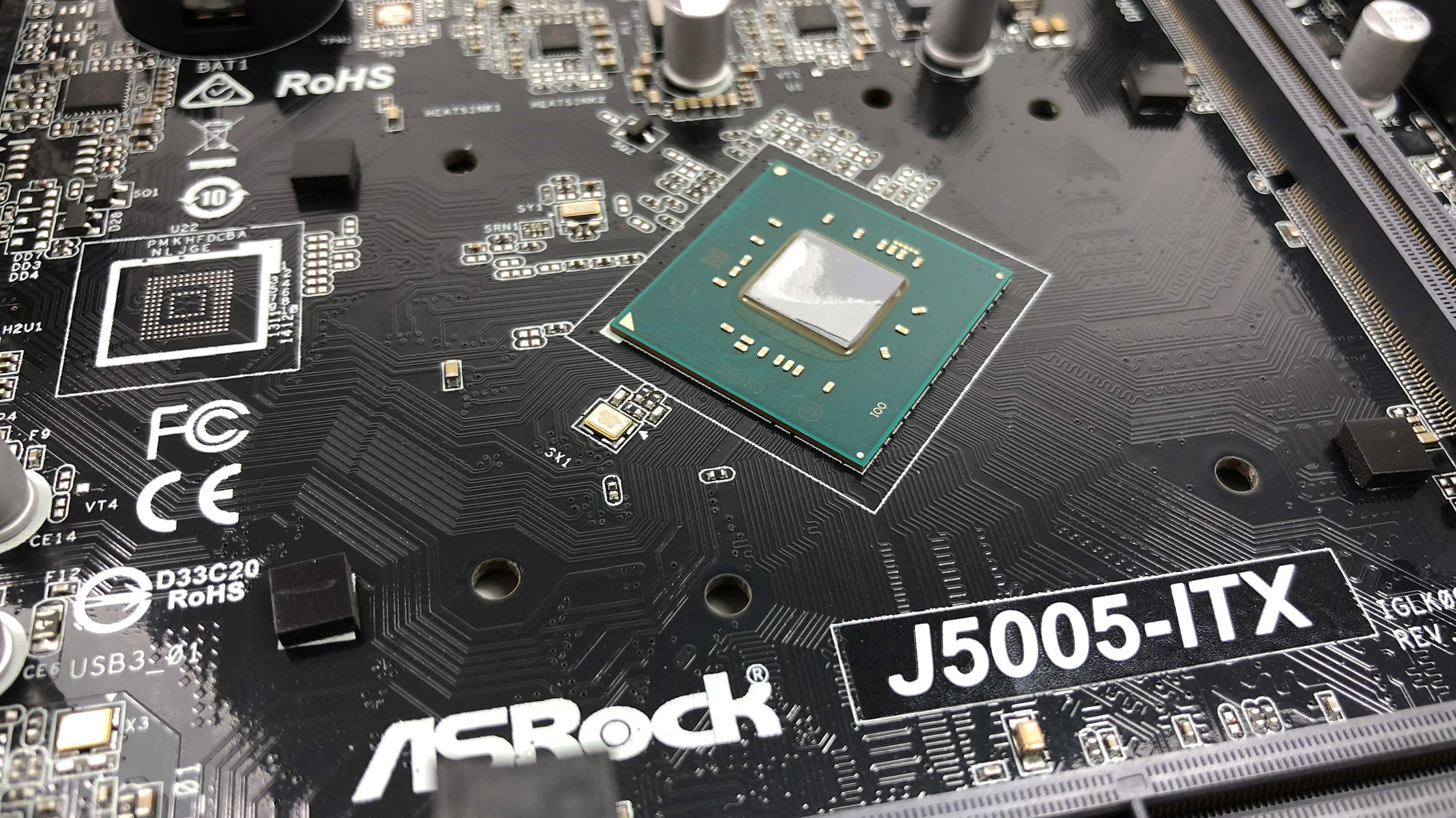 ASRock J5005-ITX mit passiv gekühltem 4-Kern Prozessor im Test