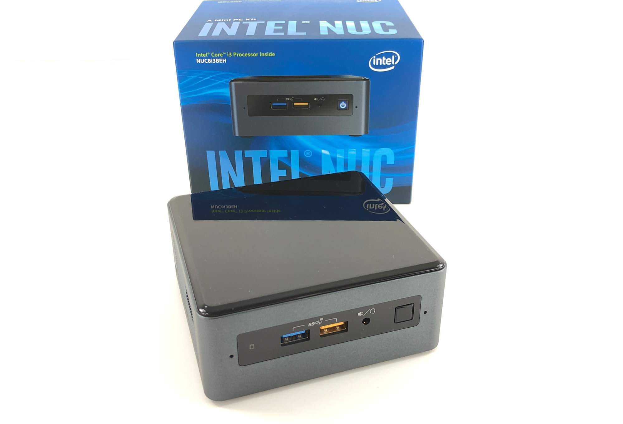 Intel NUC8i3BEH im Test unter Windows 10