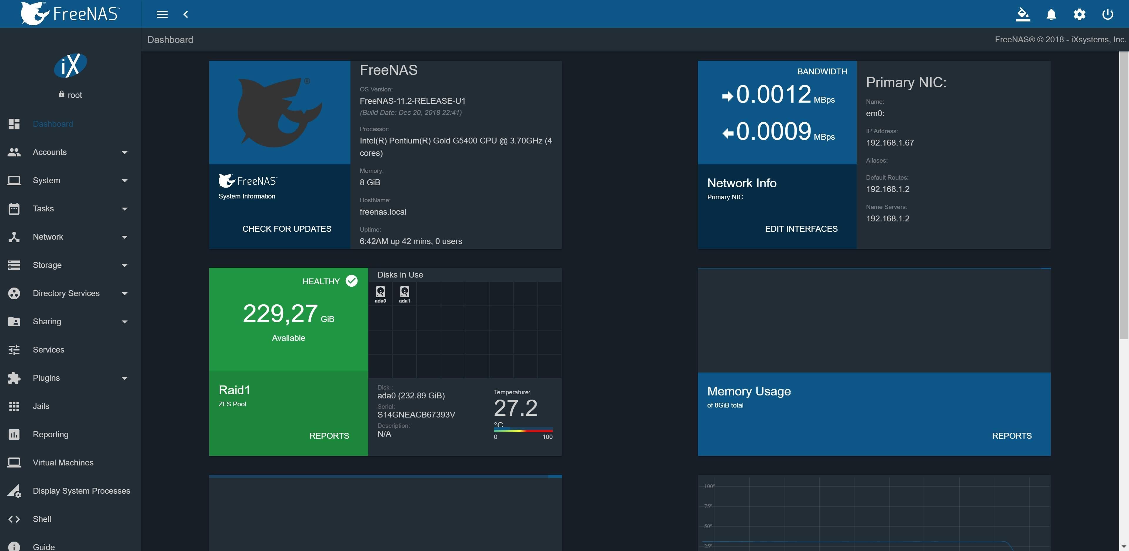 NAS Advanced 3 0 - NAS mit Intel C246 Serverchipsatz und 6x SATA