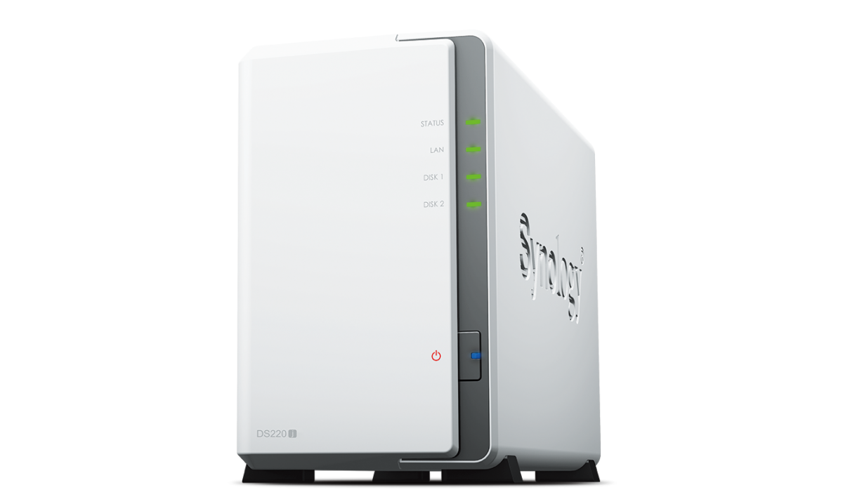 2-Bay-NAS - Synology DS220j - im Test