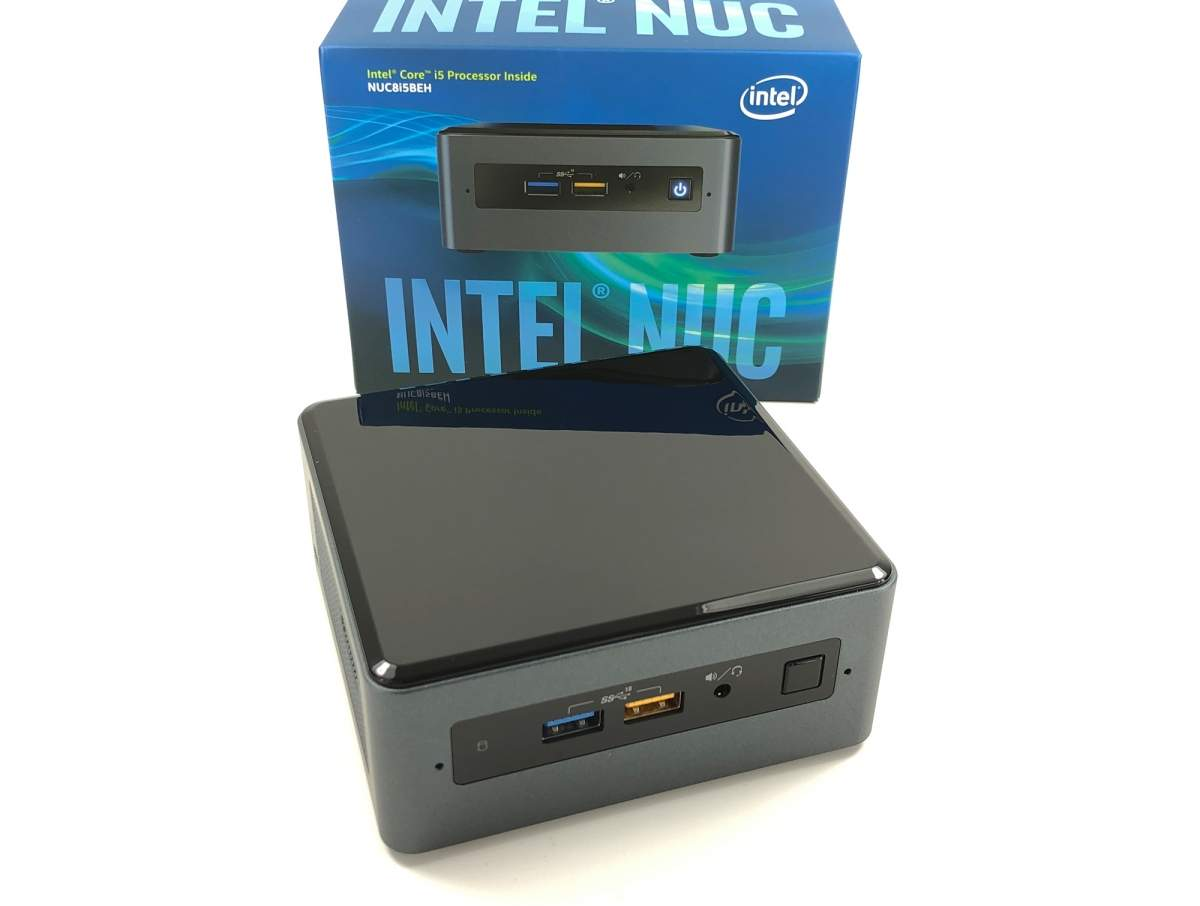 Intel NUC8i5BEH im Test unter Windows 10