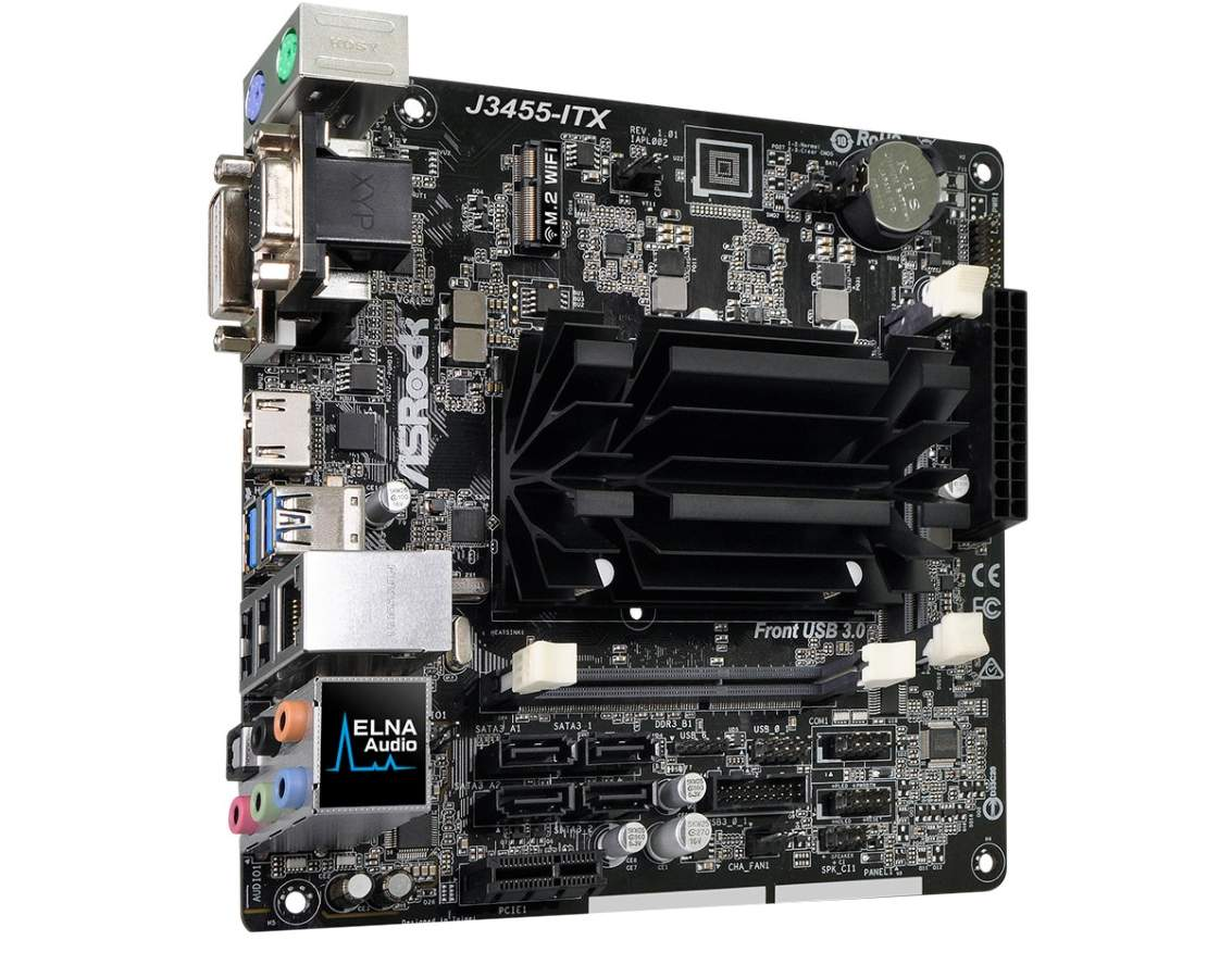 NAS Basic 1.0 - Mini-ITX NAS mit 4x SATA und Intel Apollo Lake